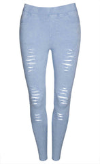 Riptide Blue Jeggings