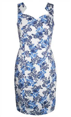 Lucy Blue Floral Dress