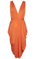 Athena Orange Dress