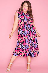 Elizabeth Bright Animal Dress