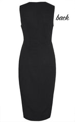 Manhattan Black Midi Dress