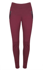 Ambition Burgundy Leggings