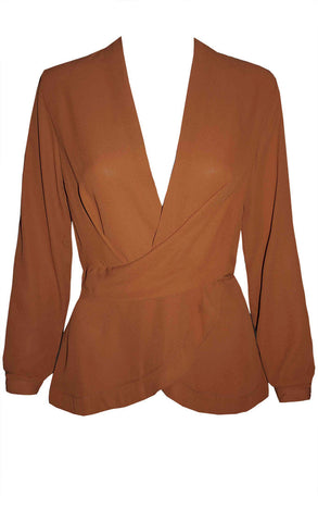 Crossfire Rust Blouse