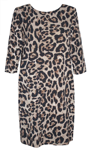 Holly Leopard Print Dress