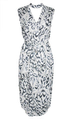 Chance Animal Print Dress