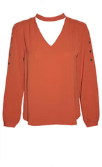 Kendall Rust Blouse
