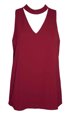 Ivy Burgundy Top