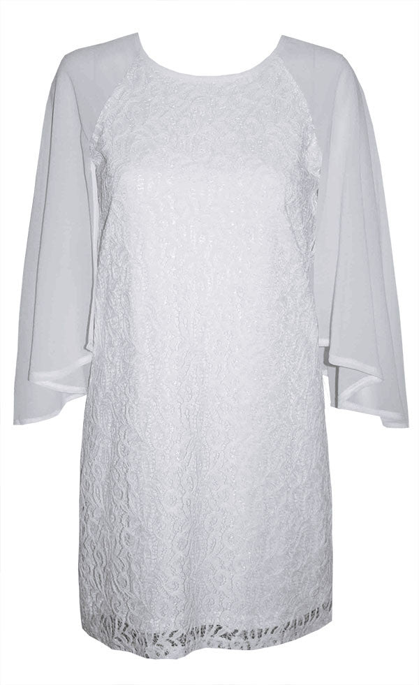 Angel White Lace Dress