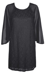 Angel Black Lace Dress