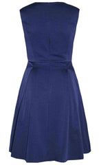 Enchanted Navy Bow Dress