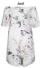 Barcelona Lilac Floral Dress