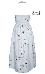 Kelsey Blue Floral Dress