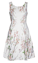 Lovers Lane White Blossom Dress