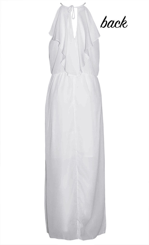 Caitlin White Maxi Dress