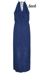 Caitlin Navy Maxi Dress