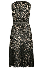 Romance Black Lace Dress