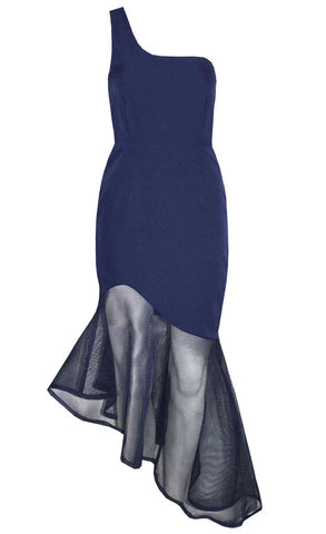 Super Power Navy Dress