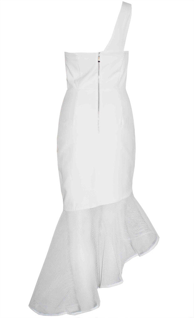 Super Power White Dress
