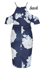 Bindy Navy Floral Dress