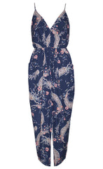 Lucky Charm Navy Floral Dress