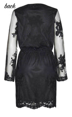 Centre Stage Black Lace Dress