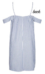 Tilbury Blue Stripe Dress