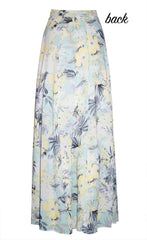 Traveller Yellow Floral Wrap Skirt