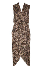 Spirited Leopard Print Dress
