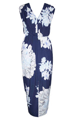 Endless Navy Floral Dress