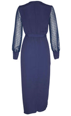 Whisper Navy Dress