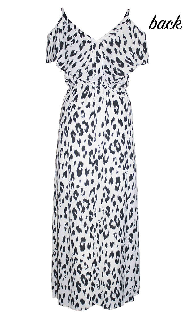 Tayla Animal Print Maxi Dress