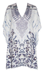 Splendour Animal Print Kaftan