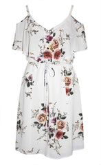 Nikita White Floral Dress