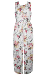 Marianne White Floral Dress