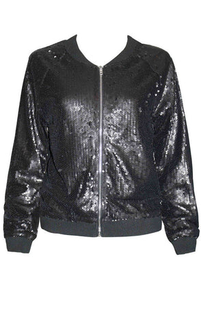 Ignite Black Sequin Jacket