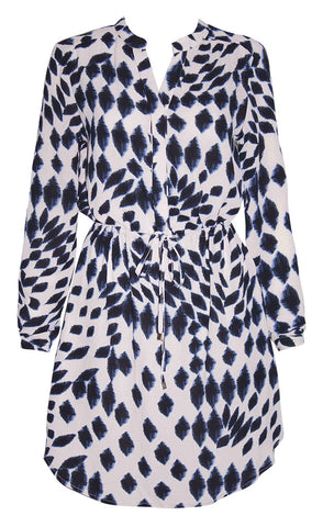 Billy Animal Print Shirt Dress