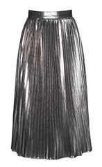 Tainted Love Silver Skirt