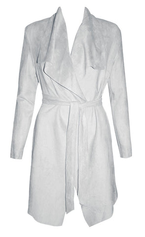 Camilla Grey Waterfall Jacket
