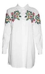 Annabel White Embroidered Shirt