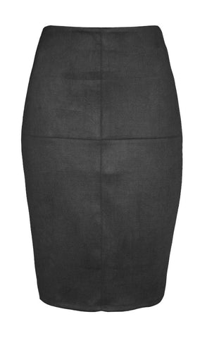 Catwalk Black Pencil Skirt