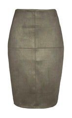 Catwalk Khaki Pencil Skirt