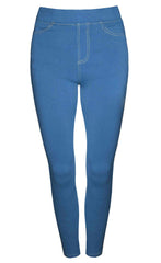 Strut Blue Jeggings