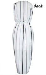 Briana Stripe Dress