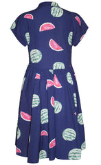 Frankie Watermelon Print Dress