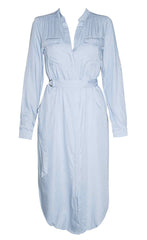 Alicia Light Chambray Dress