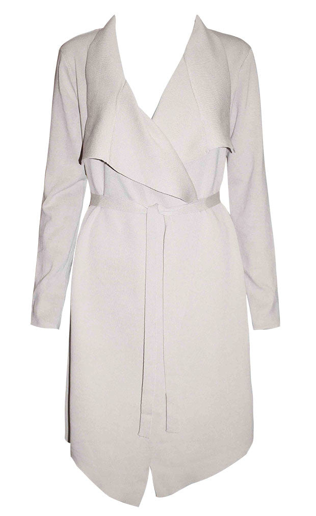 Bianca Beige Waterfall Jacket