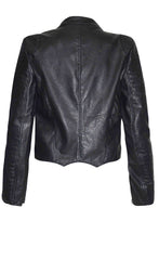 Motel Black Biker Jacket