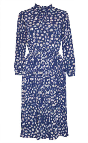 Crush Navy Paisley Dress