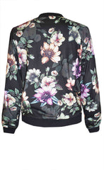Iggy Black Floral Jacket