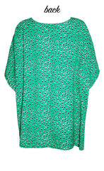 Alex Green Leopard Top